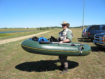 Jim in his Watermaster