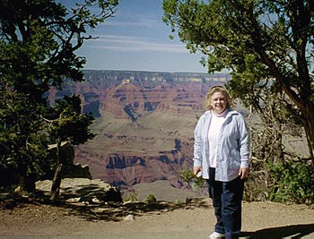 Mary at the Grand Canyon