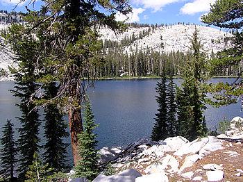 Lillian Lake panorama