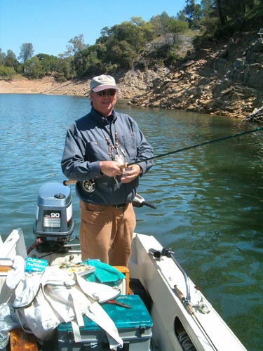 """Bob """"bassin"""" with a spey rod"""