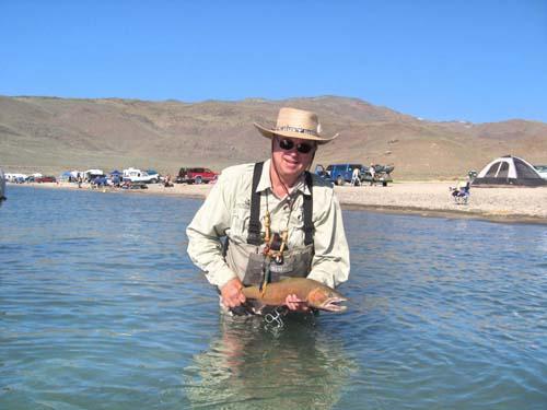 Bob Schwehr got a good fish.