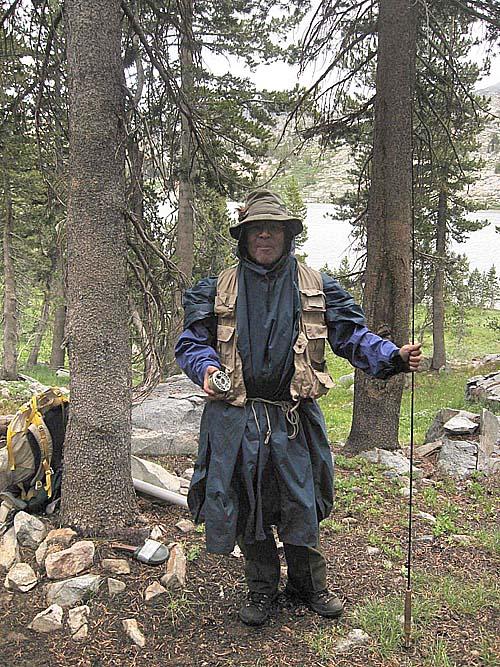 Friar Trott ready to fish