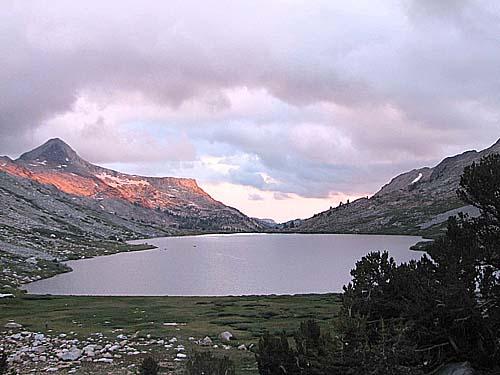 Mary Lake Sunset