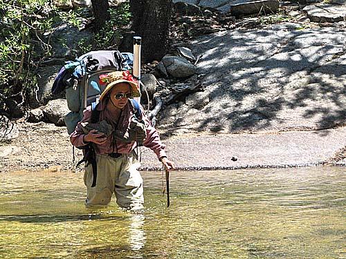 Pat Crossing The Carson