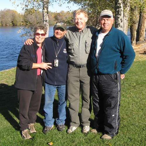 Karen, John, Mike & Rich