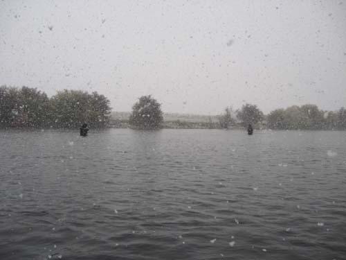 Snowstorm on the Henrys Fork