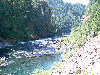 Umpqua River Canyon