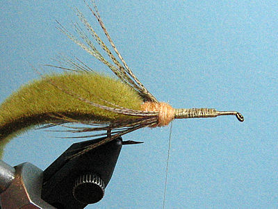 Thread my first crayfish pattern | Fly Tying | BoardReader