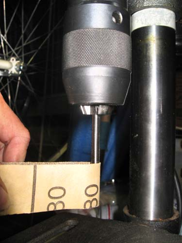Tubing in drill press